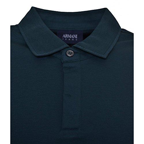 Armani Jeans Men's Green Polo Shirt Green