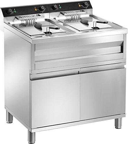 Gam Gastro Doppel Friteuse Frf212 18000 Watt 400 Volt Edelstahl Unterbau Neu