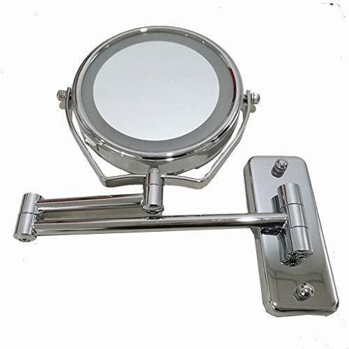 LULUDP Espejos de baño Vanidad de baño Espejo de Maquillaje iluminada Espejo de Maquillaje Wall Mounted...