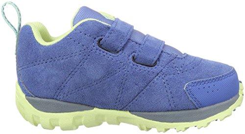 Columbia Childrens Venture, Chaussures Multisport Outdoor Garçon Bleu (Medieval/ Sea Ice)
