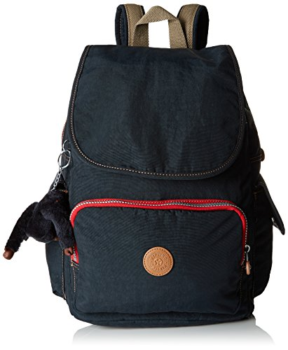 Kipling City Pack - Zaini Donna, Blu (True Navy C), 15X24X45 Cm (W X H X L)