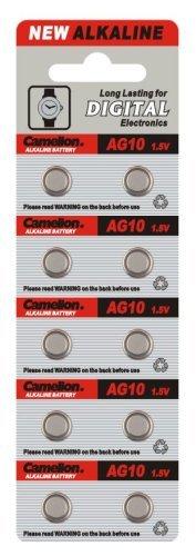 Camelion AG 8LR 551,5V Alkaline Knopfzelle (10Stück) Ag 8