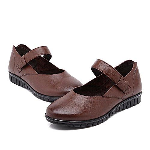 Maman et chaussures de fond mou/Appartement confortables chaussures/ old shoes femmes/Chaussures légères/Plat de souliers pour dames C