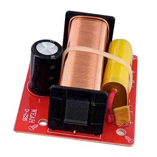 FLAMEER 2-Wege Lautsprecher Audio-Crossover-Filter PCB-Grundplatte, 92 x 72 x 23 mm