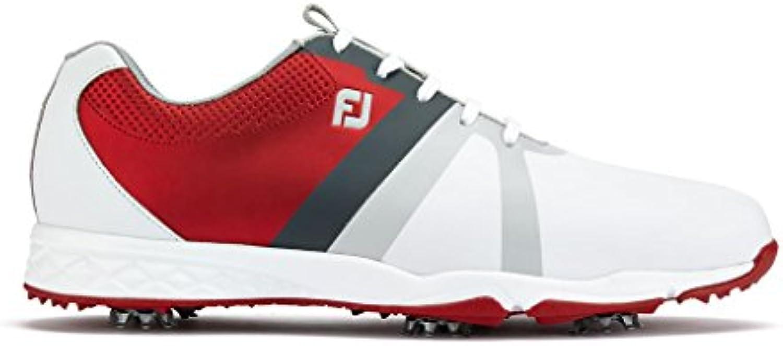 Footjoy Herren Energize Golfschuhe  weissszlig (Blanco/Rojo 58119)  44 EU