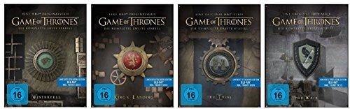 game of thrones steelbook staffel 3 Blu-ray Steelbook Set * Game of Thrones - Staffel/Season 1+2+3+4