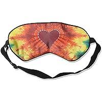 Tie Dye Red Heart 99% Eyeshade Blinders Sleeping Eye Patch Eye Mask Blindfold For Travel Insomnia Meditation preisvergleich bei billige-tabletten.eu