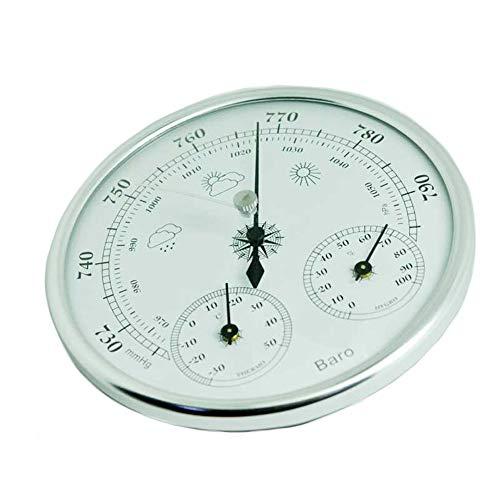 SYN Barómetro Air Weather 3 en 1 Mini de Alta precisión para Colgar en la Pared, medidor de presión...
