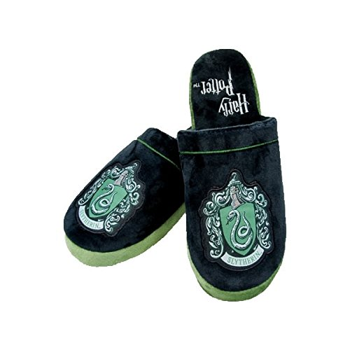 Harry Potter Slippers Slytherin Size L Groovy Footwear