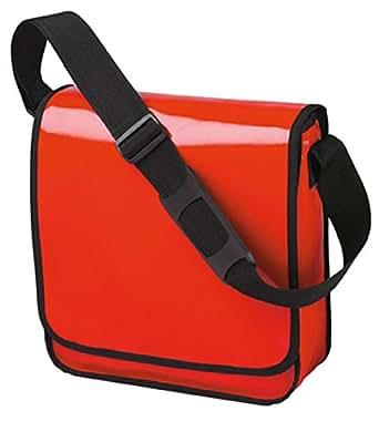 HALFAR - sac sacoche bandoulière porte documents 1803928 - rouge - mixte homme / femme