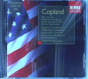Copland: Piano Quartet; Sonata for Violin & Piano; Rodeo; Duo by Soloists of New York Philharmonic