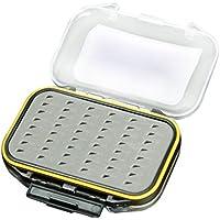 Caja de trastos - MAXIMUMCATCH Impermeable Caja de almacenamiento del gancho del cebo senuelo de pesca Mosca de Espuma de dos caras Caja de trastos triangulo
