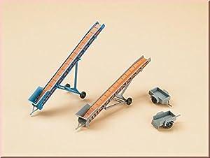 Auhagen 43650cintas transportadoras/coche remolques Modelling kit