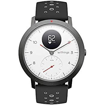 Withings Steel HR Sport Smartwatch – Reloj multideporte con GPS y monitor de frecuencia cardiaca, monitor de actividad y de sueño, notificaciones