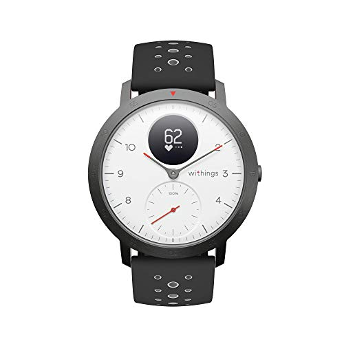 Withings Steel HR Sport - Multisport Hybrid Smartwatch 40 Hr-batterie