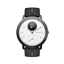 Withings Steel HR, Smartwatch Ibrido Multi-Sport Unisex – Adulto, Bianco, 40 mm