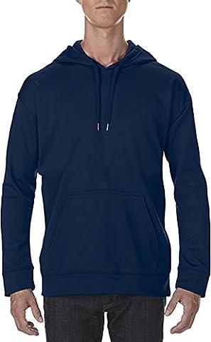 Gildan Performance Adult Tech Hooded Sweatshirt Sports Dark Navy L