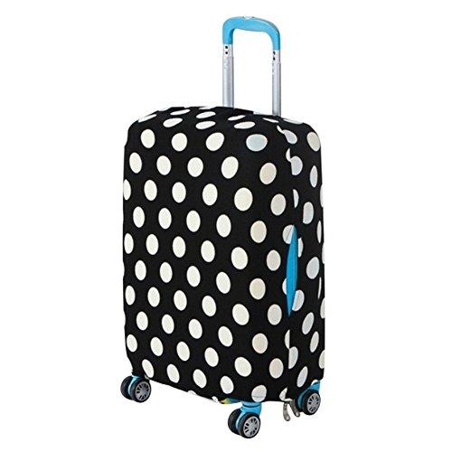 Handfly Custodia protettiva per il bagaglio da viaggio elastica Custodia antigraffio in spandex anti-polvere per proteggere i bagagli da 18-29 pollici
