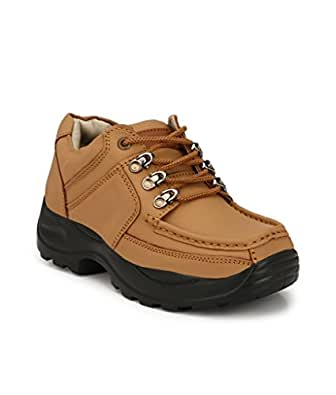 SHOE DAY Men's Outdoor Shoes TAN