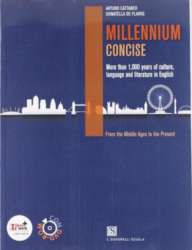 Millennium concise. Per le Scuole superiori. Con DVD-ROM. Con e-book. Con espansione online
