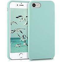 kwmobile Funda para Apple iPhone 7/8 - Carcasa de [TPU] para teléfono móvil - Cover [Trasero] en [Menta]