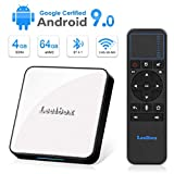 Android 9.0 TV Box, Android Box 4GB RAM 64GB ROM , Leelbox KM3 Android TV Box...