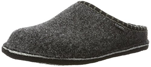 Fargeot Unisex-Erwachsene CALOUFOLK Pantoffeln, Grau (Anthrazit), 45 EU