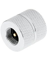 MagiDeal Conector de Adaptador Recarga de Gas Aleación de Aluminio Para Bote de Estufa Al Aire