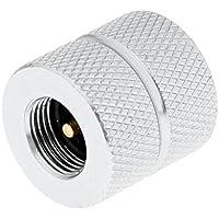 MagiDeal Conector de Adaptador Recarga de Gas Aleación de Aluminio Para Bote de Estufa Al Aire Libre de Relleno de Cilindro