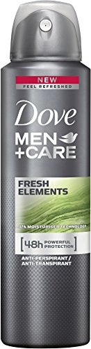 Dove MEN+CARE Deospray Fresh Elements Anti-Transpirant, 150 ml