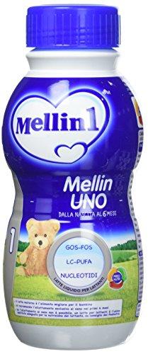 Mellin 1 Latte Liquido per Lattanti - 12 Bottiglie x 500 ml