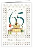 Geburtstagskarte zum 65. Geburtstag