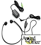 Transcription Headset for Dictaphone ...Deluxe Features 3.5 inch Stereo/Mono selector with volume controll