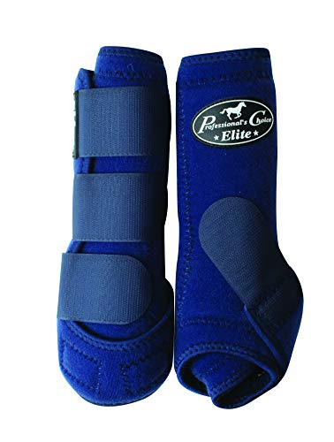 Professionals Choice Equine Sports Medicine Ventech Elite Stiefel vorne, Unisex, Navy, Large -