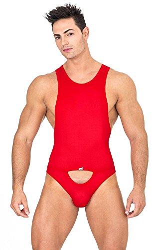 Eros Veneziani Herren Body, rot