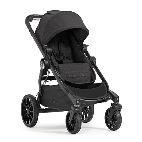 Baby Jogger City Select LUX Kinderwagen, Single-Modell, Granite