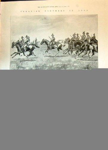 old-original-antique-victorian-print-1900-leighton-intombi-camp-ladysmith-war-milwaukee-ship-nurse-m