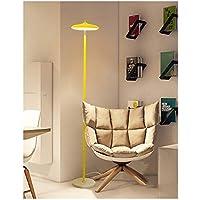 DUOMING Nordic Stoff Lampenschirm Bett Vertikale Lampe Schlafzimmer Stehleuchte Wohnzimmer Sofa Lampe Einfache Moderne Kreative Vertikale Tischlampe Innenbeleuchtung