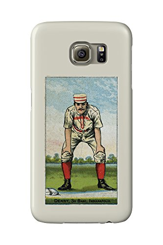 indianapolis-hoosiers-jerry-denny-baseball-card-galaxy-s6-cell-phone-case-slim-barely-there