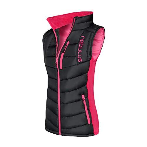 Nebulus Weste Revival Damen (Model: P4742 - Damen, schwarz - pink; Größe: XL(42)) FBA