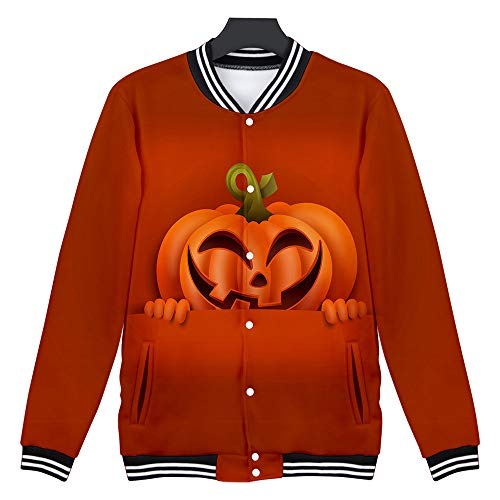 Clown Scary Mens Kostüm - SSUPLYMY Mens Casual Sweatshirt Scary Halloween Liebhaber 3D Blumenmuster Party Langarm NOhoodie Top Bluse Liebhaber Party Langarm NOhoodie Top Bluse Langärmeliges Halloween Hemd