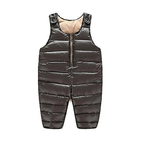 ZAMME Unisex Baby-Winter-warme starke aufgefüllte Hosen