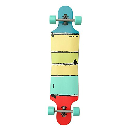 apollo-longboard-maui-dt-komplettboard-abec-kugellagern-twin-tip-drop-through-freeride-skaten-cruise