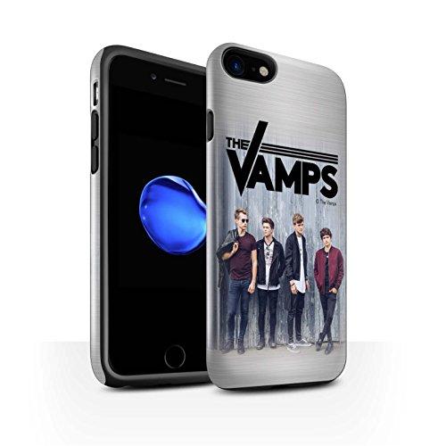 Officiel The Vamps Coque / Brillant Robuste Antichoc Etui pour Apple iPhone 7 / Pack 6pcs Design / The Vamps Séance Photo Collection Brossé