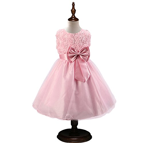 0554eb89cc7 FairOnly Formal Party Dresses Baby Teenage Girl Clothes Kids Toddler  Birthday Bow.