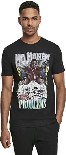 MERCHCODE Herren Notorious B.I.G. Mo Money Tee - Oberteil mit Print von Biggie und passendem Schriftzug T-shirt, black, L