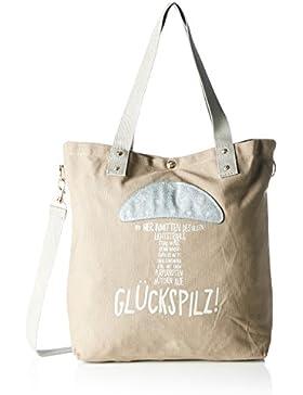 Adelheid Damen Glückspilz Einkaufstasche Shopper, 44x39x10 cm