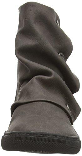 Blowfish Practice Damen Halbhohe Stiefel mit dünnem Futter Grau