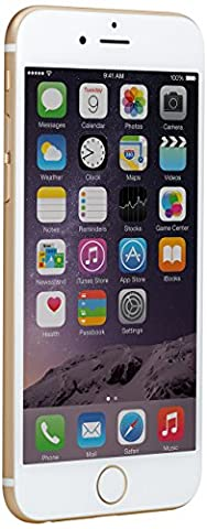 Apple iPhone 6 Gold 64GB SIM-Free Smartphone (Zertifiziert und Generalüberholt)