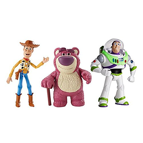 Daycare Figuren- Set : Woody-Buzz Lightyear - Losto Bear Mattel (Toy Story Buzz Lightyear)
